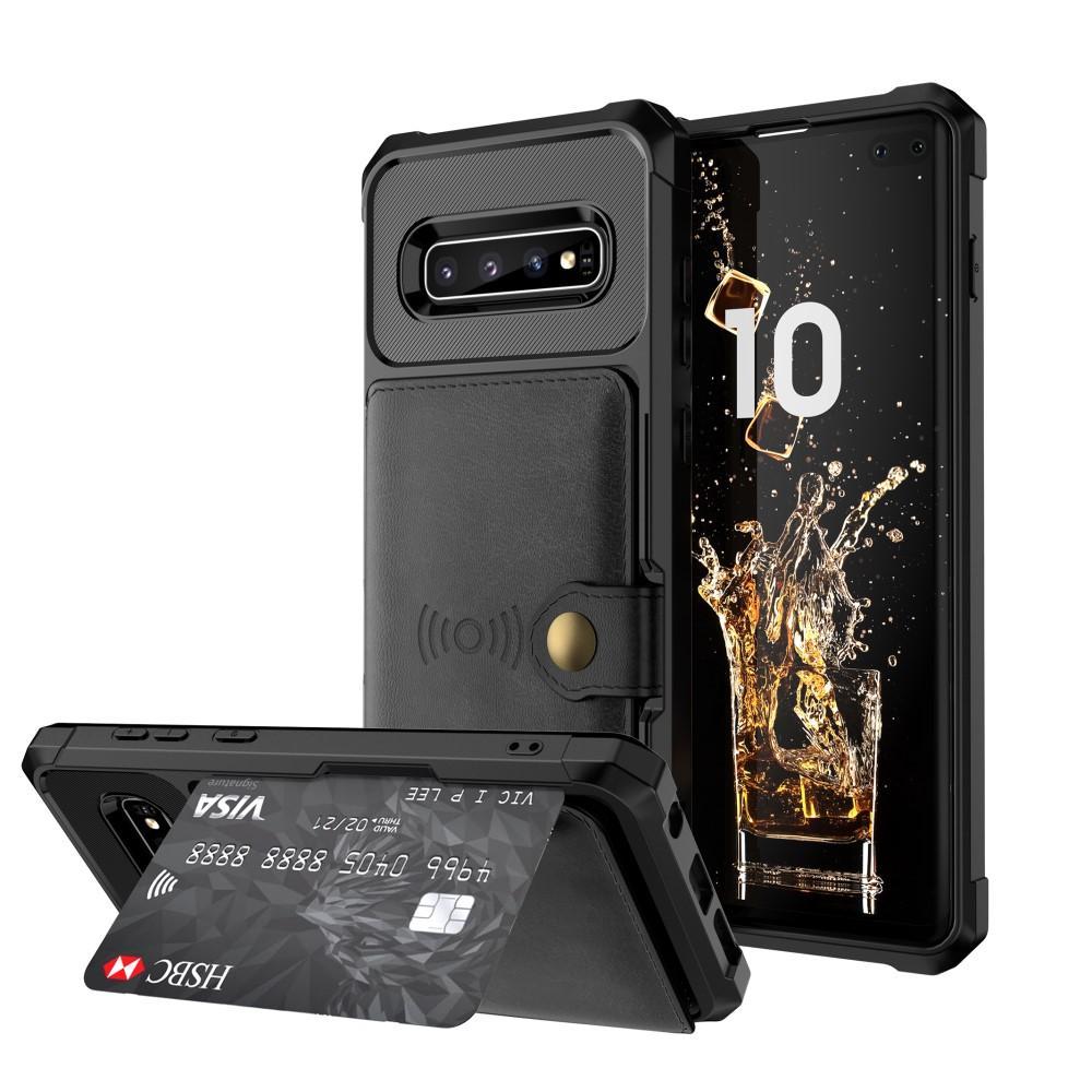 Tough Multi-slot Case Galaxy S10 Plus svart