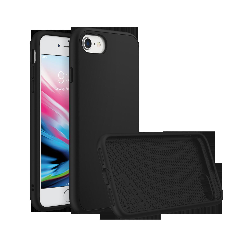 SolidSuit Deksel iPhone 7/8/SE 2020 Black