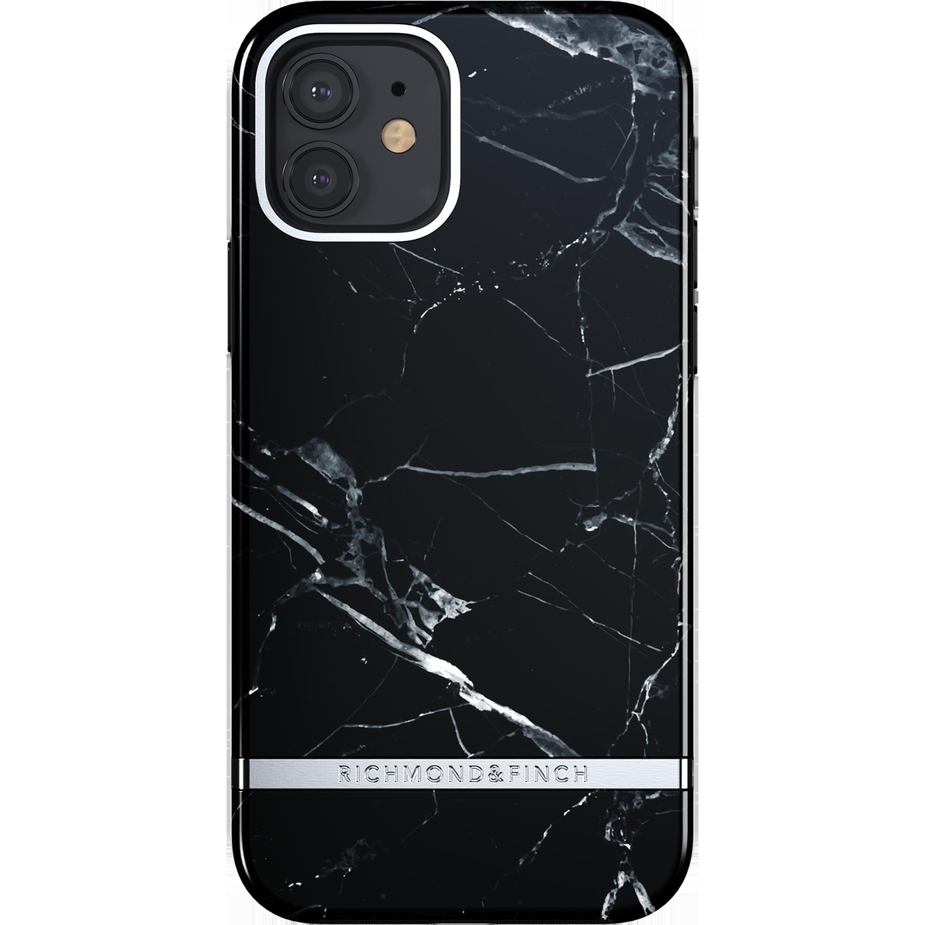 Deksel iPhone 12/12 Pro Black Marble