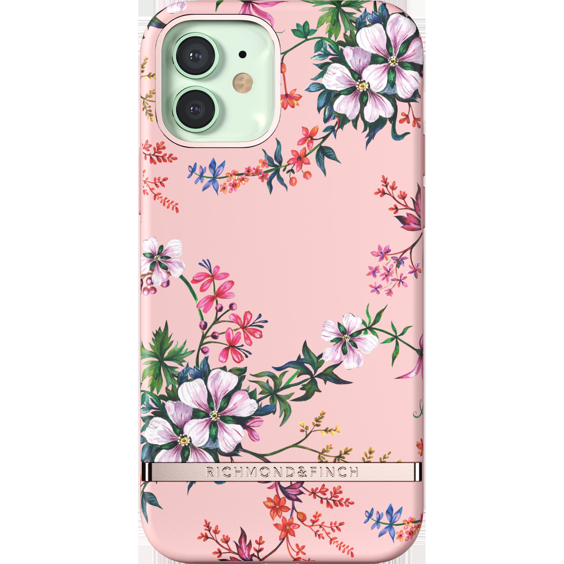 Deksel iPhone 12/12 Pro Pink Blooms