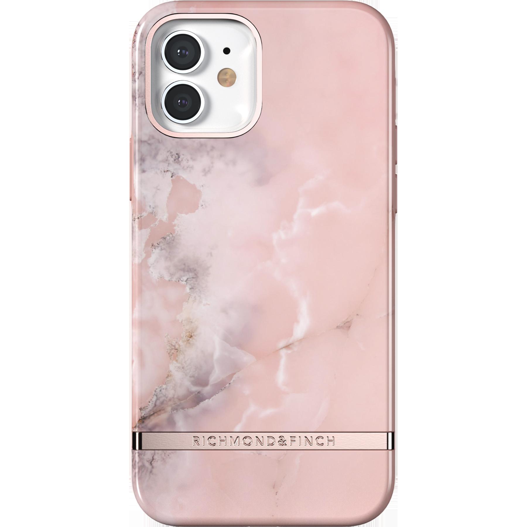 Deksel iPhone 12/12 Pro Pink Marble
