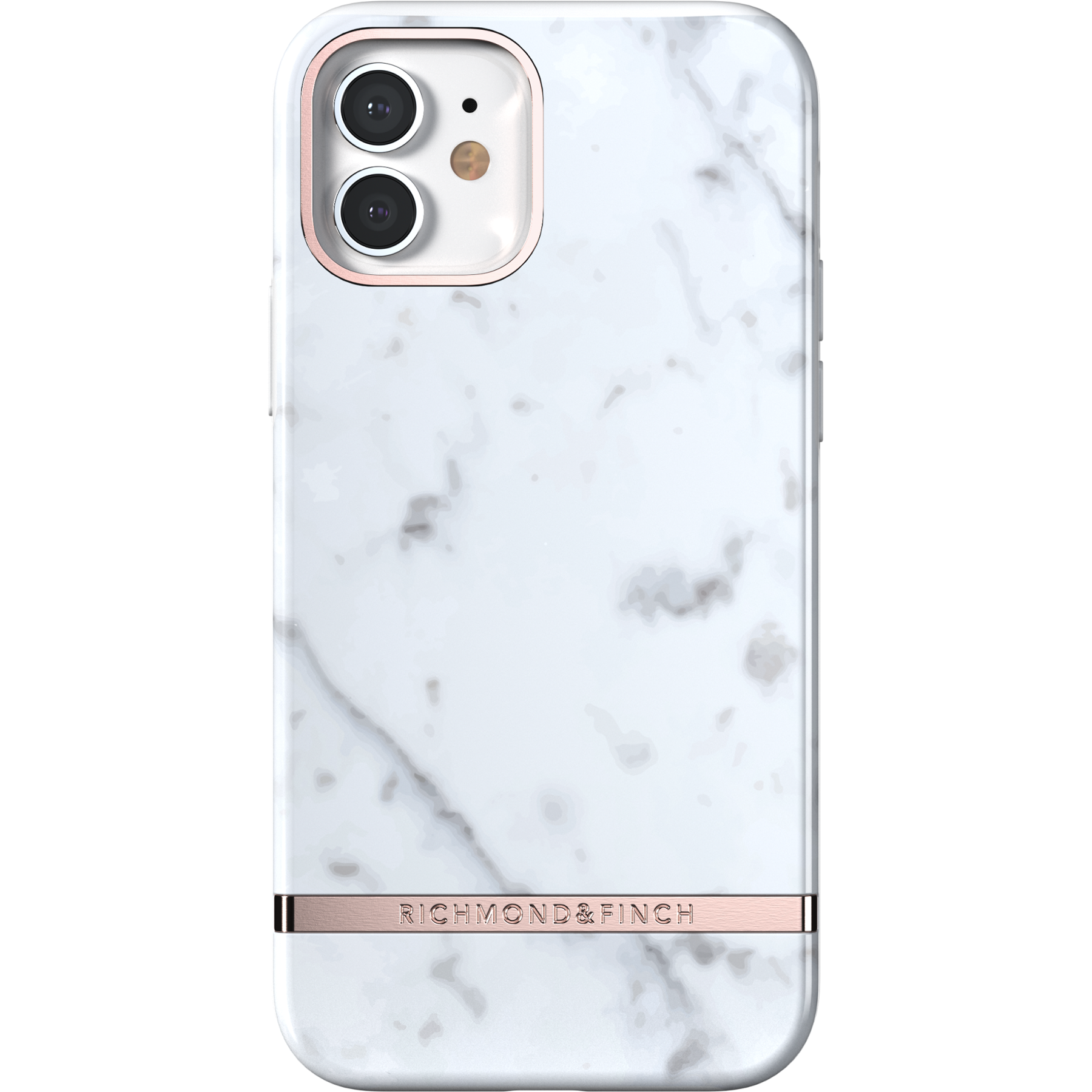Deksel iPhone 12/12 Pro White Marble