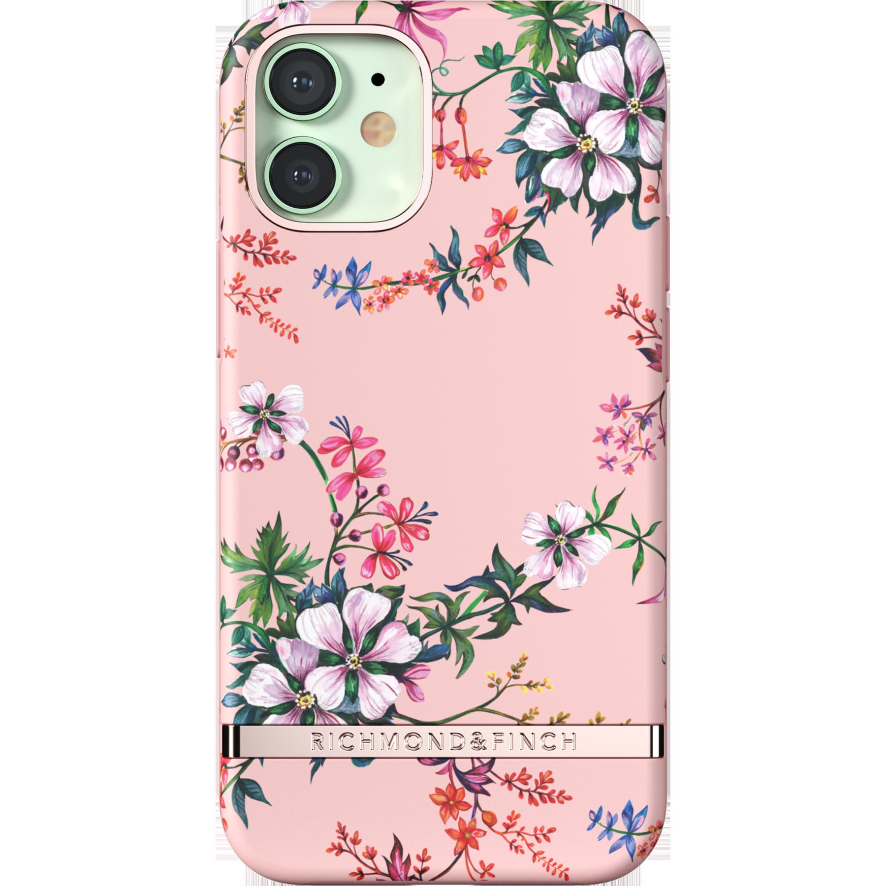 Deksel iPhone 12 Mini Pink Blooms