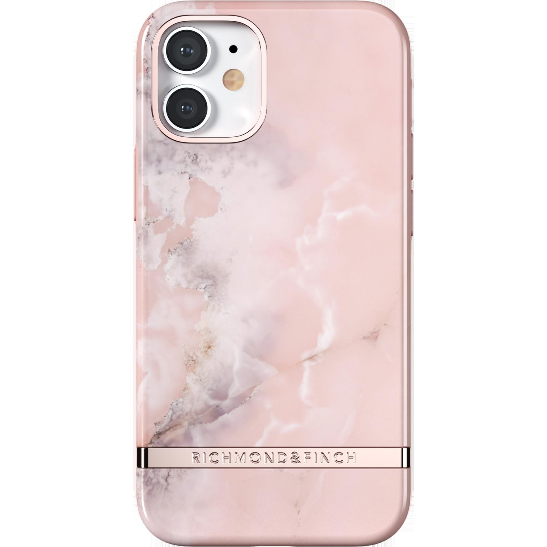 Deksel iPhone 12 Mini Pink Marble