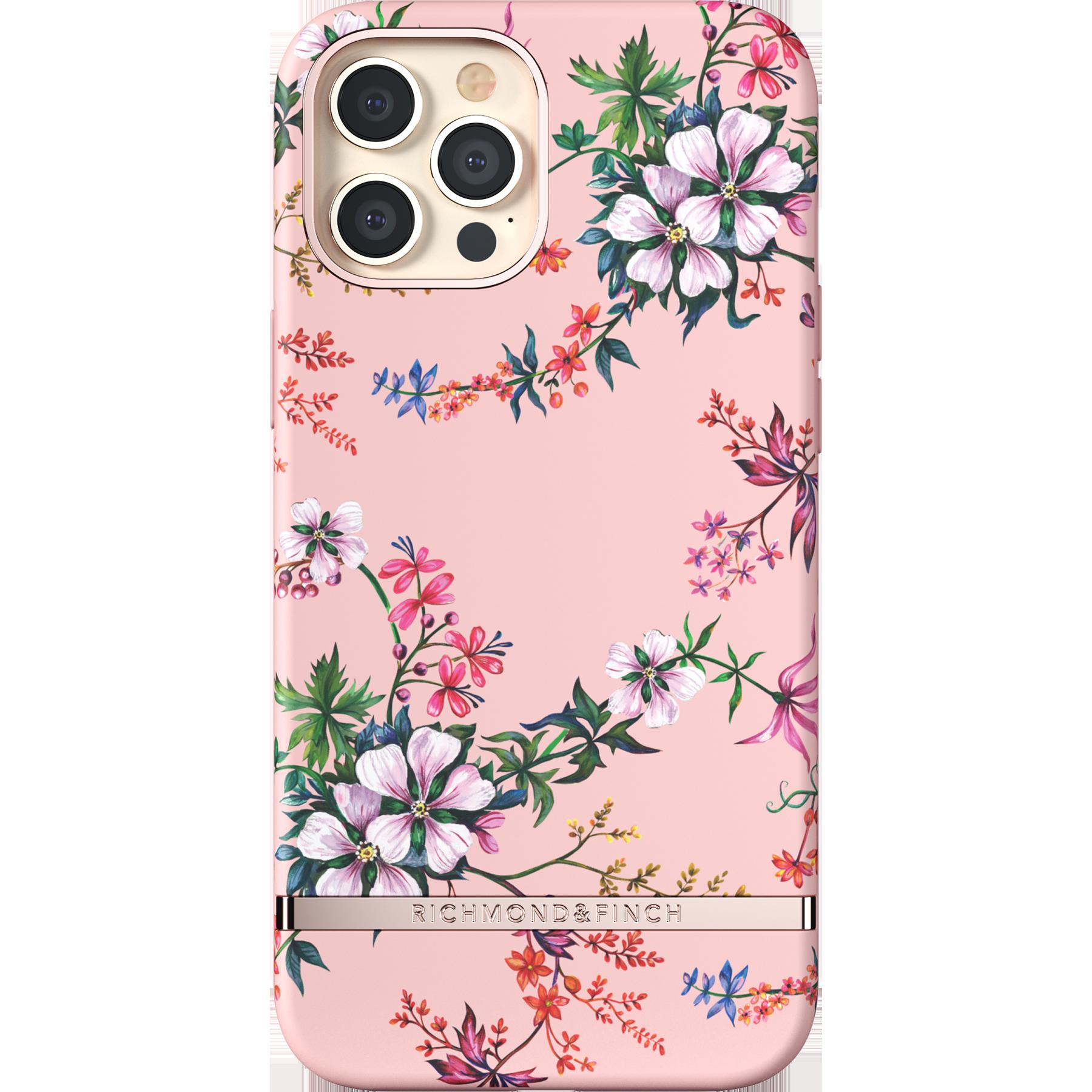 Deksel iPhone 12 Pro Max Pink Blooms
