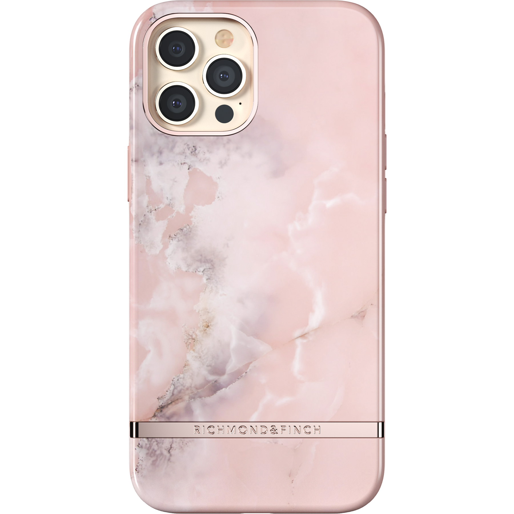 Deksel iPhone 12 Pro Max Pink Marble