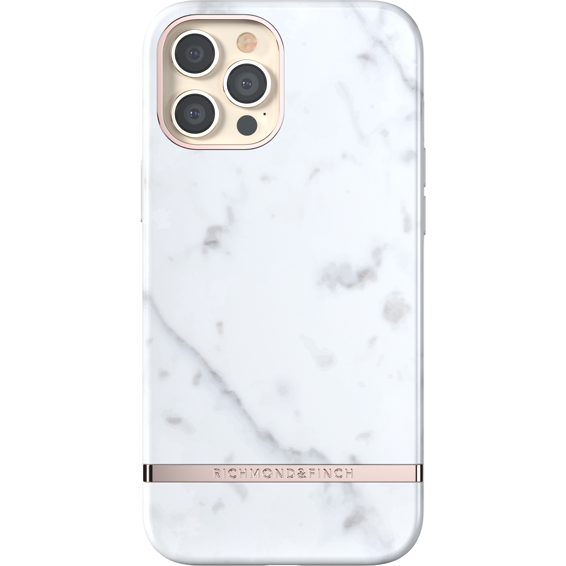 Deksel iPhone 12 Pro Max White Marble