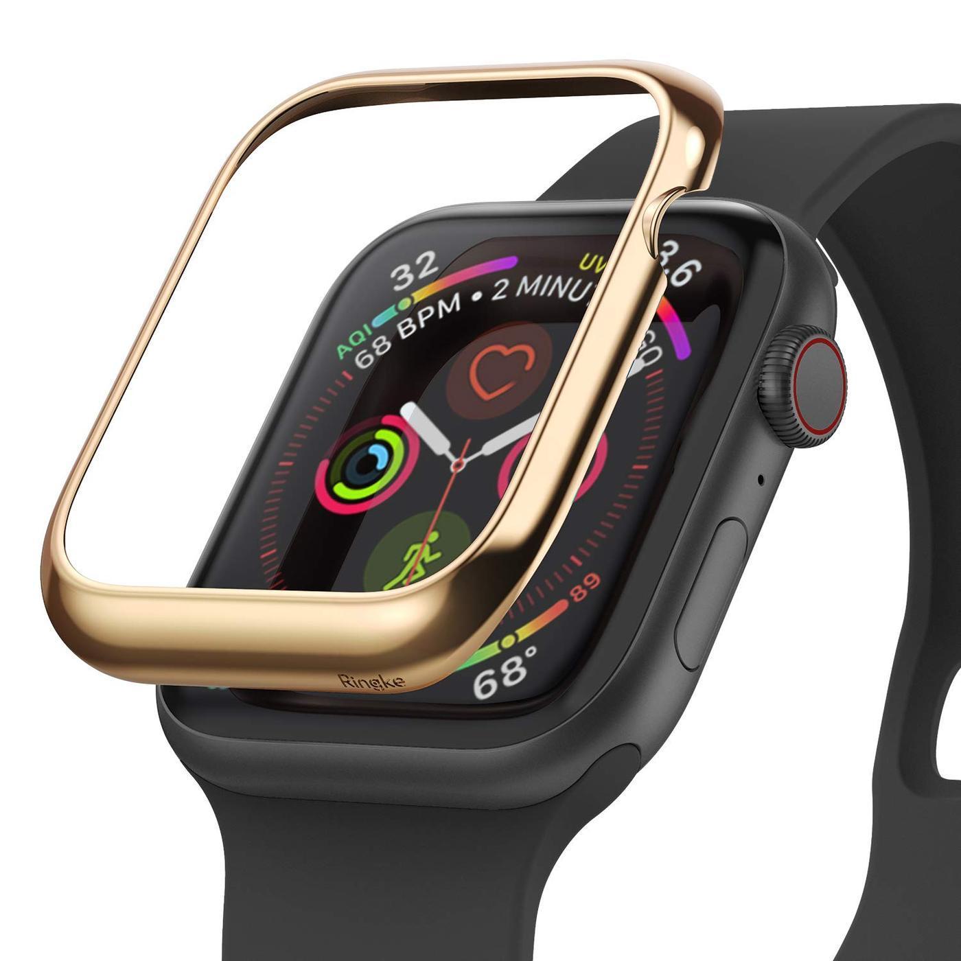 Bezel Styling Apple Watch 44mm Glossy Gold