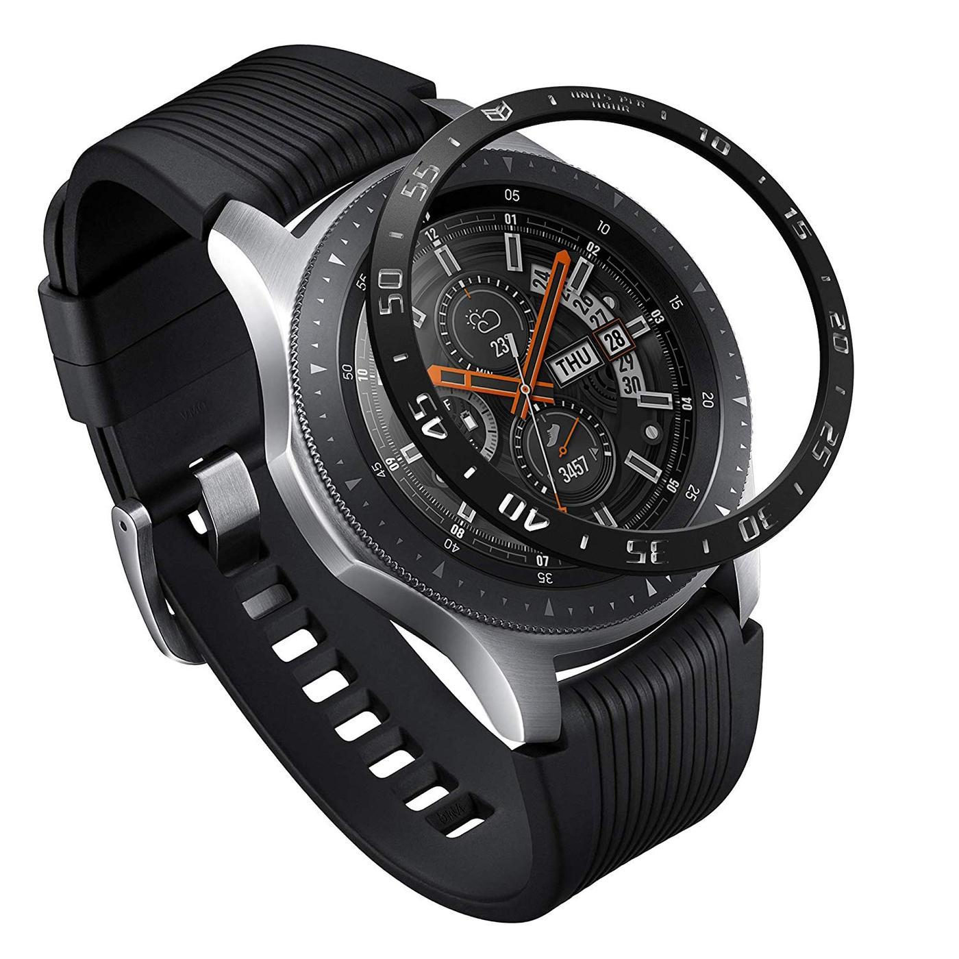 Bezel Styling Galaxy Watch 46mm/Gear S3 Black