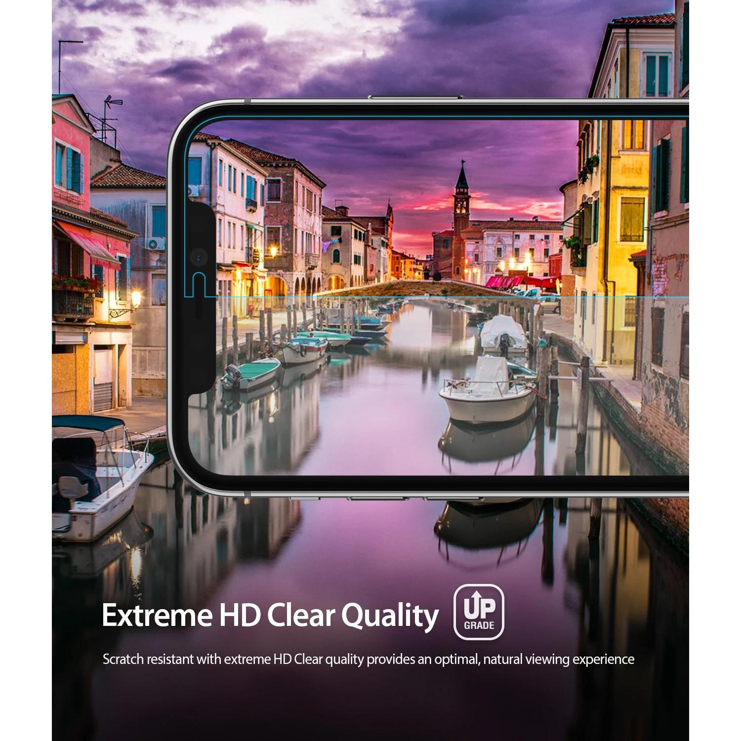 Dual Easy Screen Protector iPhone 11 Pro/XS/X (2-pack)