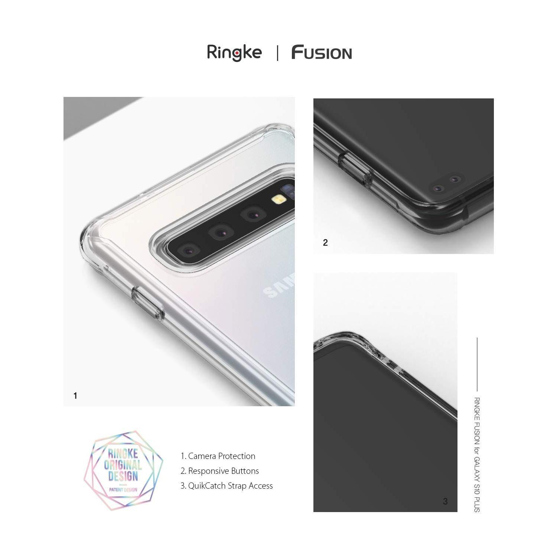 Fusion Case Galaxy S10 Plus Clear