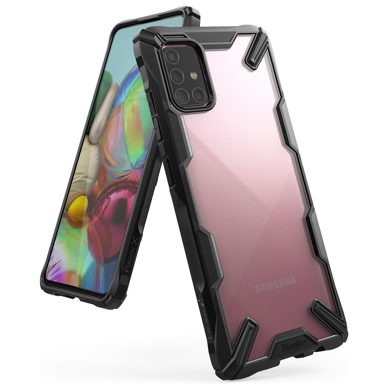Fusion X Case Samsung Galaxy A71 Black
