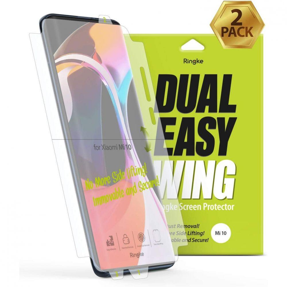 Dual Easy Wing Screen Protector Xiaomi Mi 10/10 Pro (2-pack)