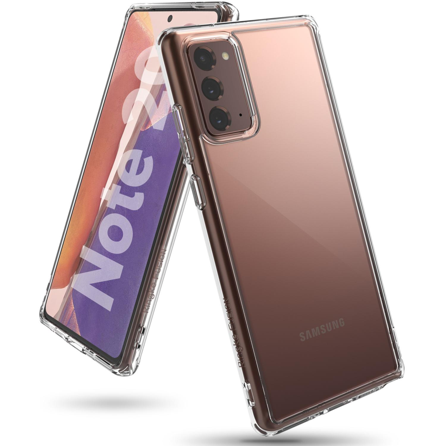 Fusion Case Galaxy Note 20 Clear