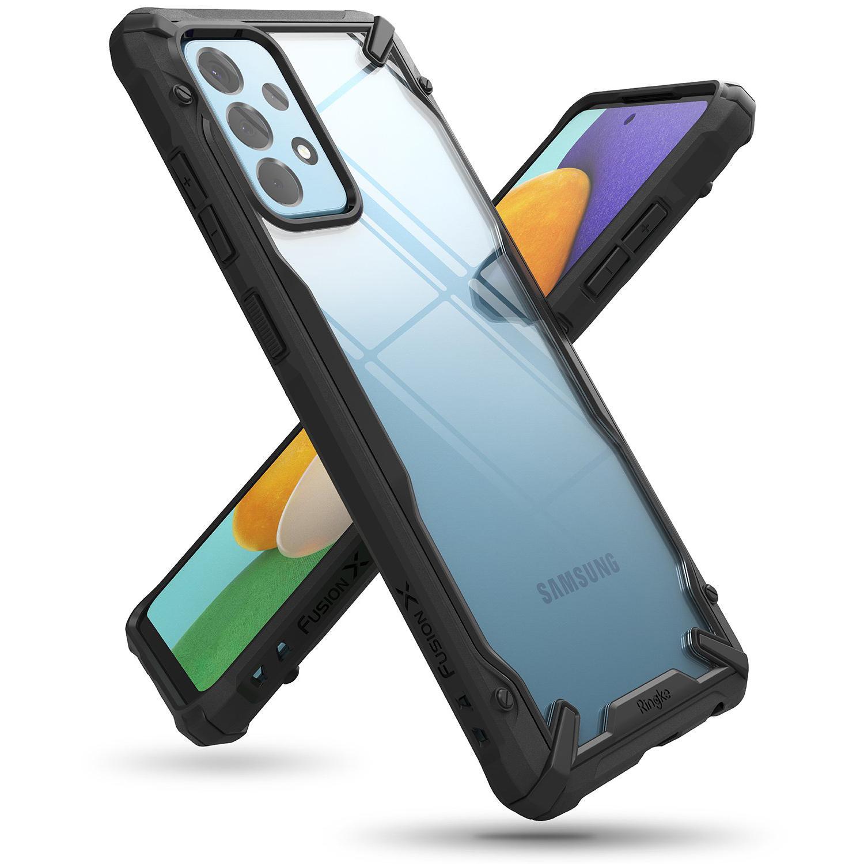 Fusion X Case Galaxy A52 Black