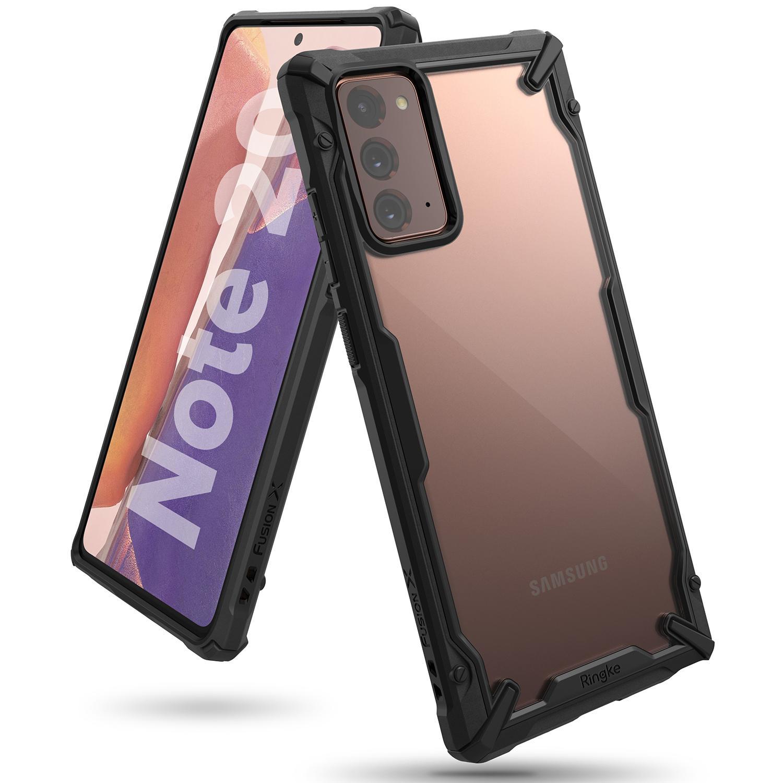 Fusion X Case Galaxy Note 20 Black