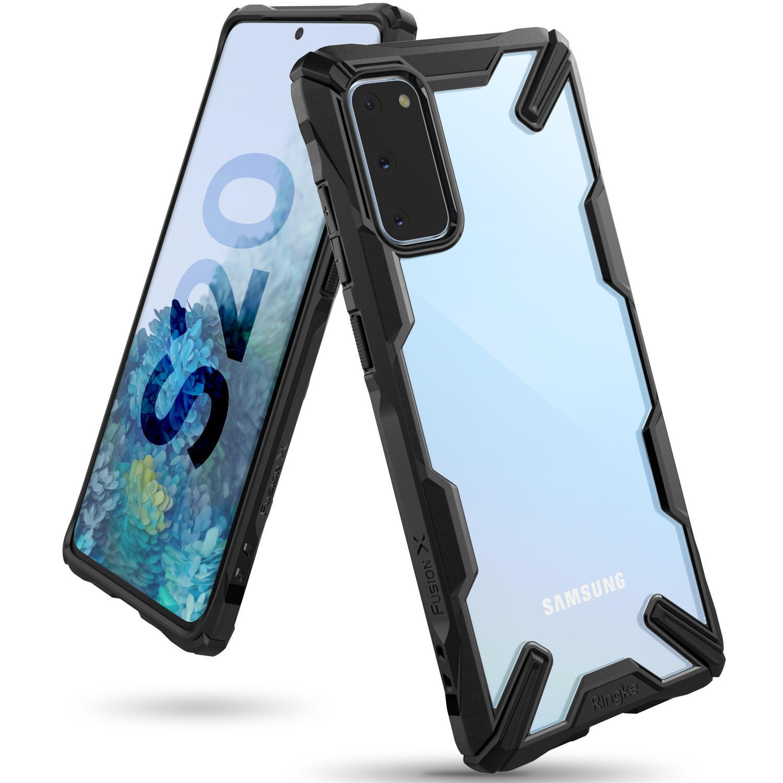 Fusion X Case Samsung Galaxy S20 Black