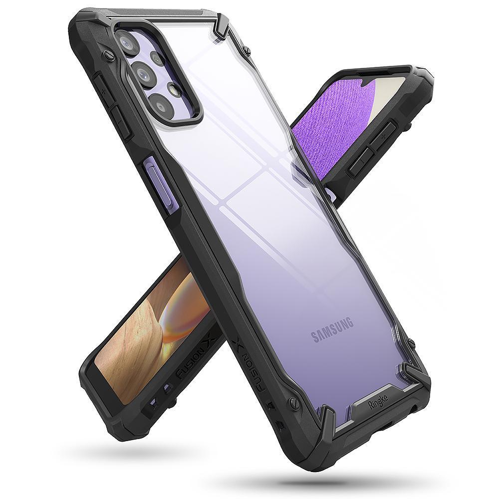 Fusion X Case Samsung Galaxy A32 5G Black