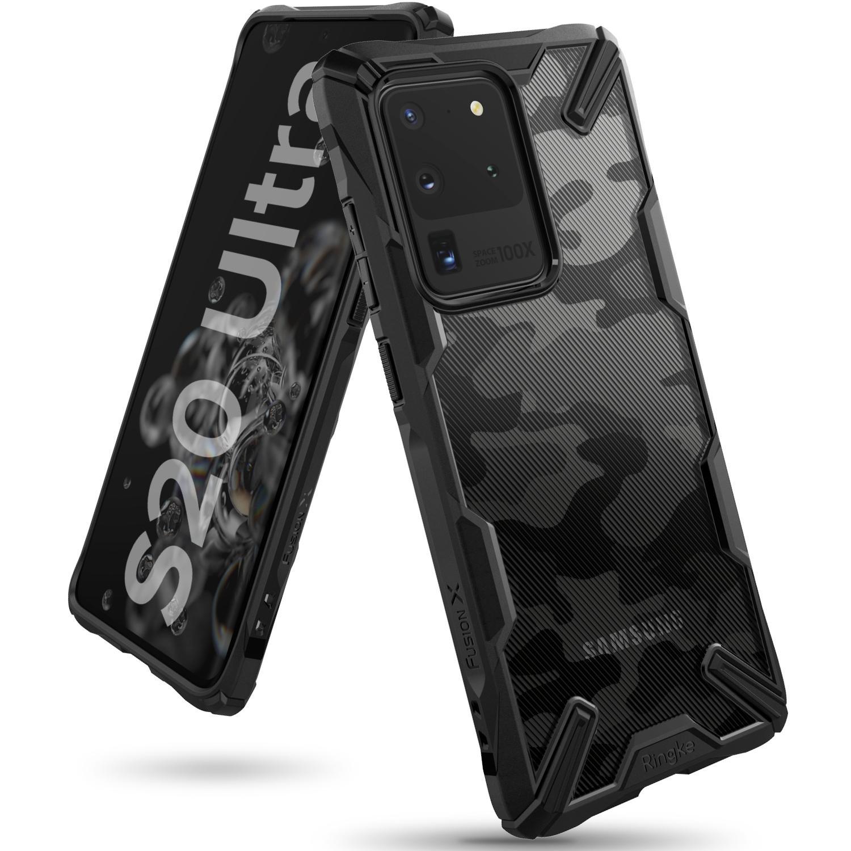 Fusion X Design Case Galaxy S20 Ultra Black
