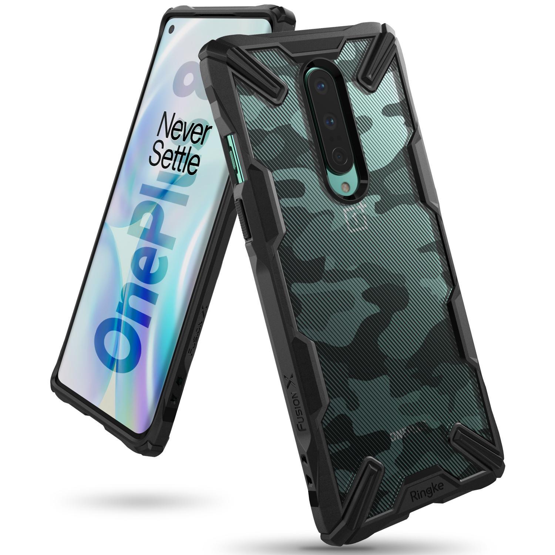 Fusion X Design Case OnePlus 8 Camo Black