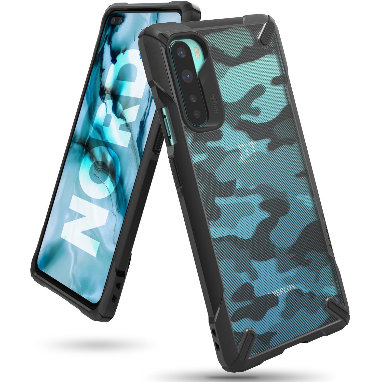 Fusion X Design Case OnePlus Nord Camo Black