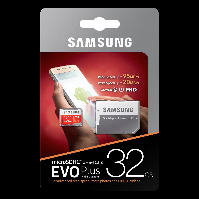 Evo Plus 32GB microSDHC Minnekort Class 10 U1