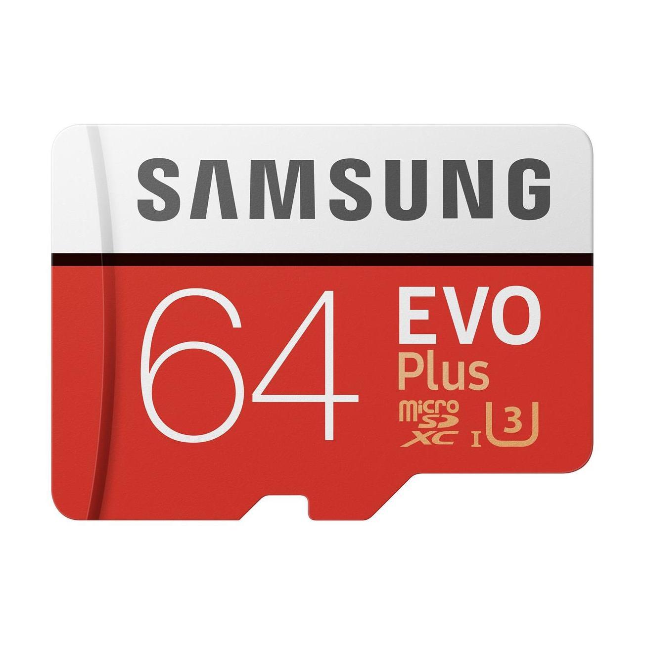 Evo Plus 64GB microSDXC Minnekort Class 10 U1