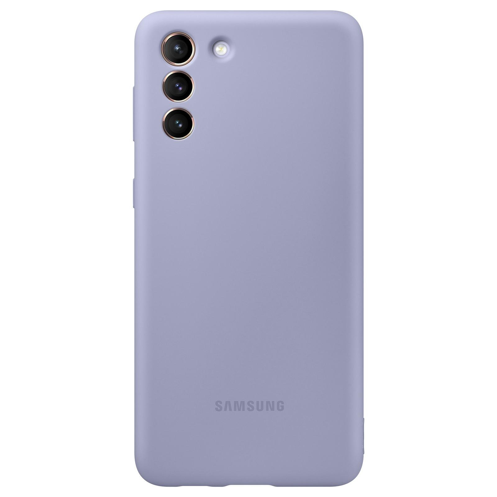 Silicone Cover Galaxy S21 Plus Violet