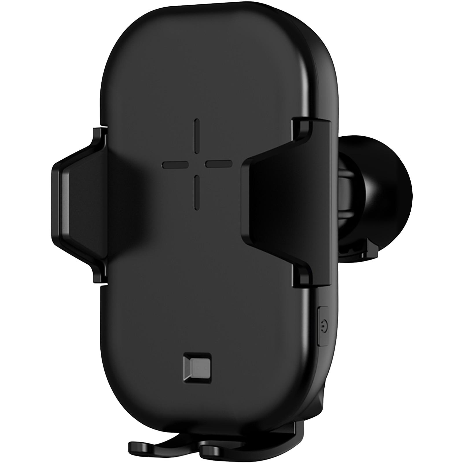 15W Wireless Qi Car Charger Black