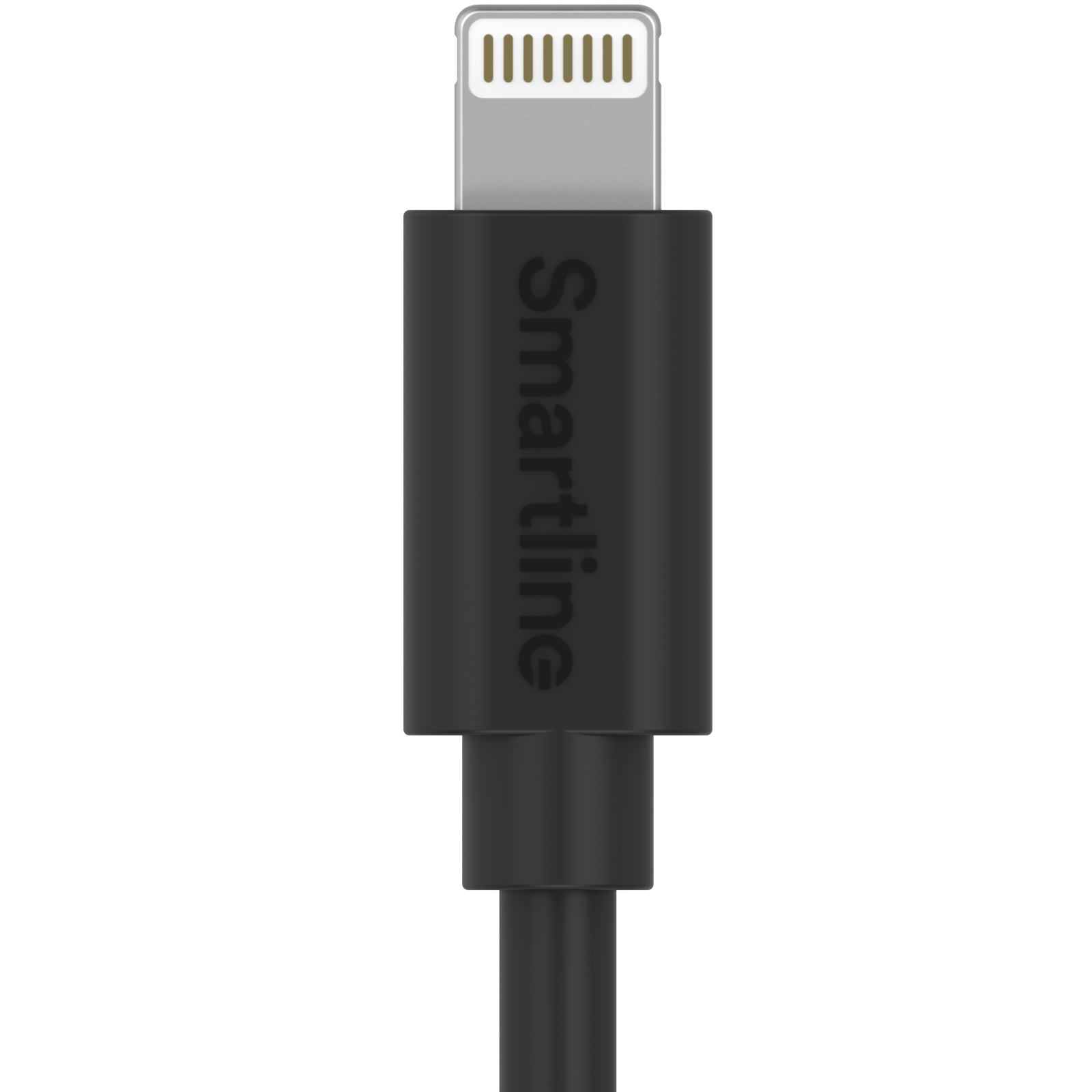 USB Cable Lightning 2m svart