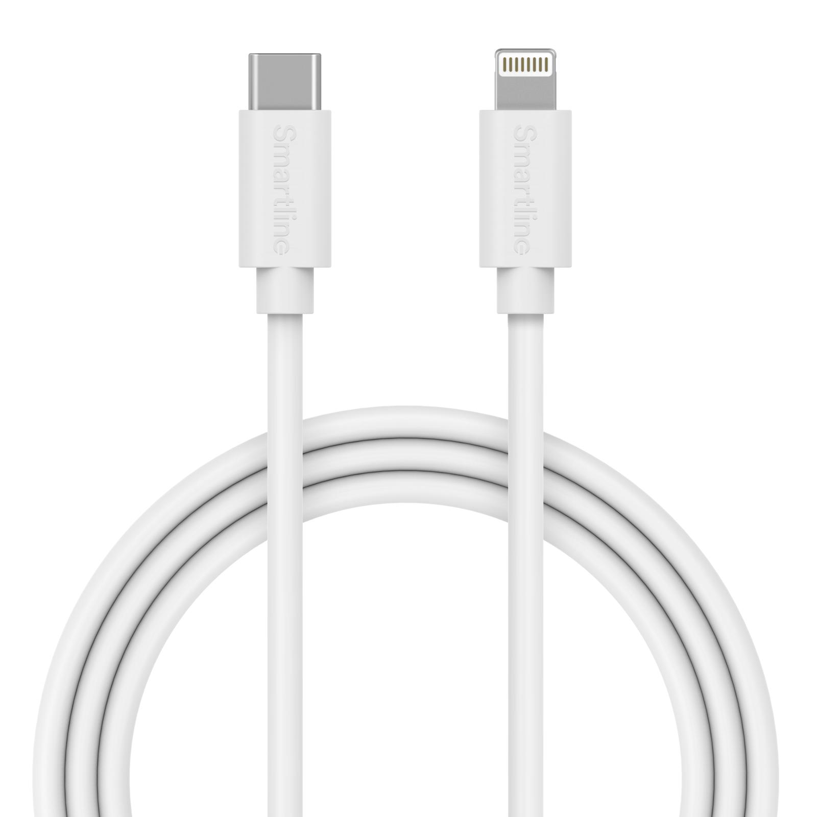 USB Cable USB-C to Lightning 2m White