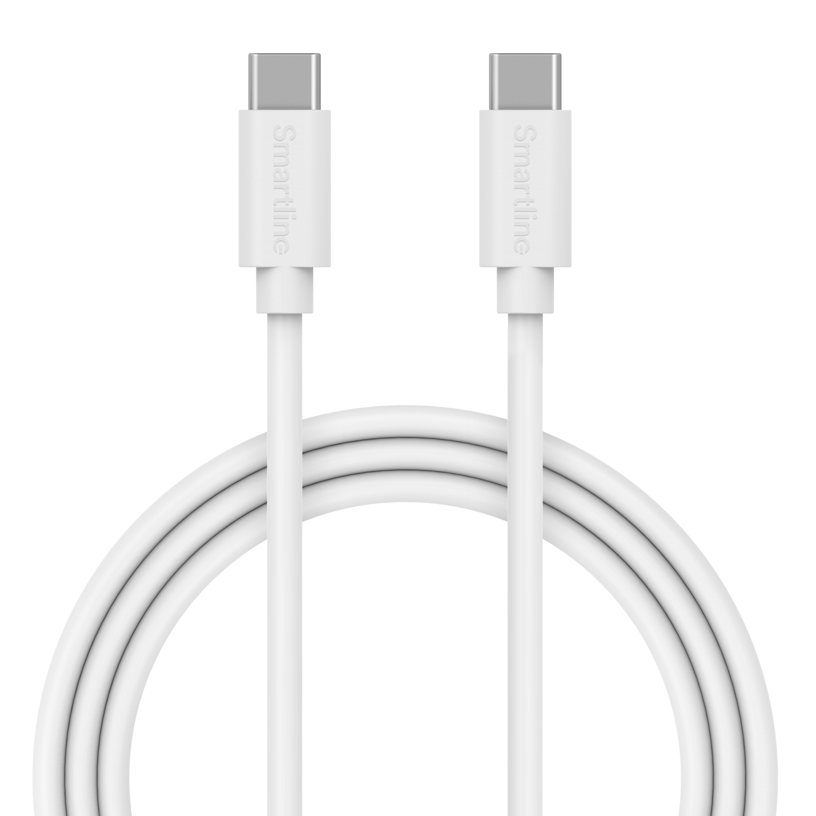 USB Cable USB-C <-> USB-C 2m hvit