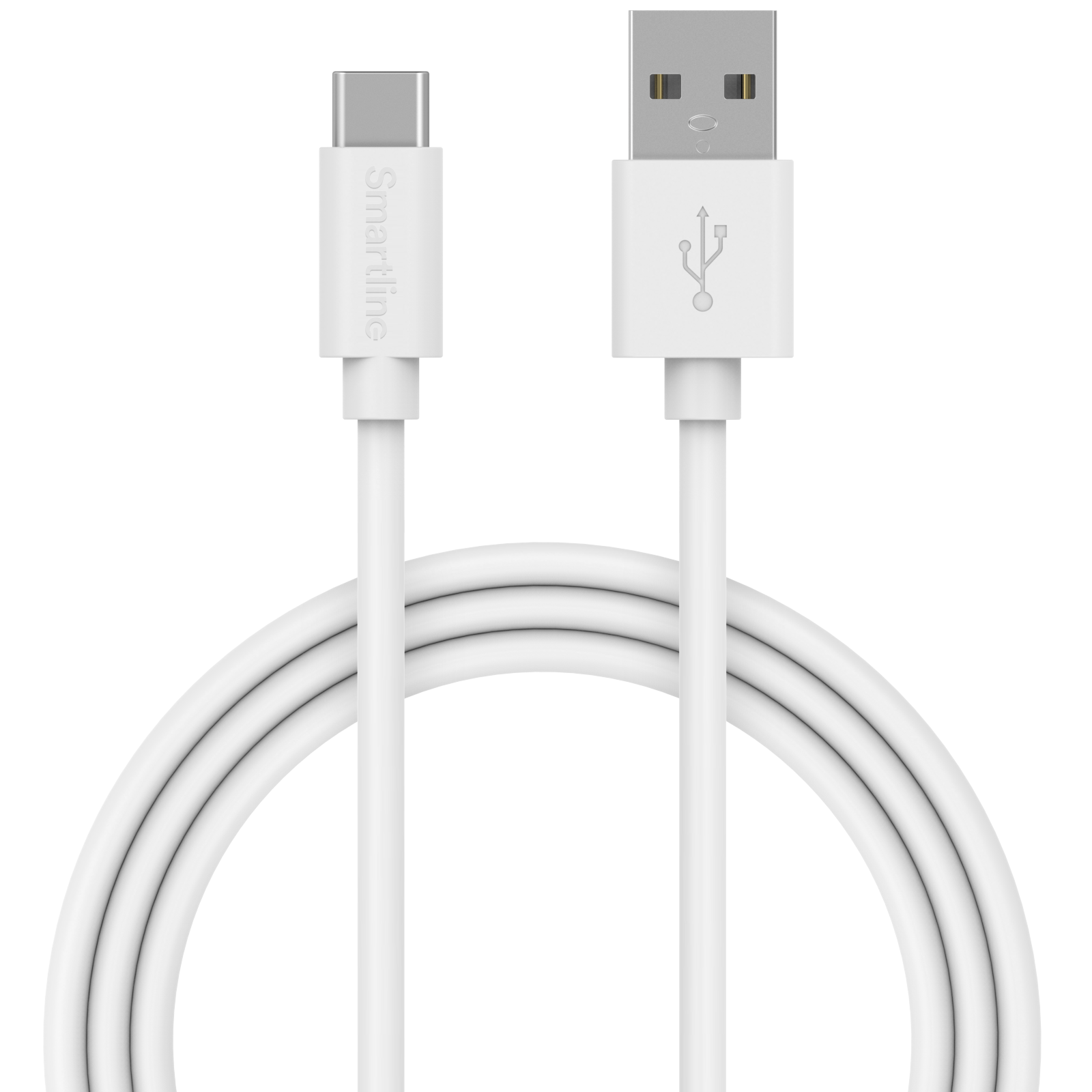 USB Cable USB-C 2m hvit