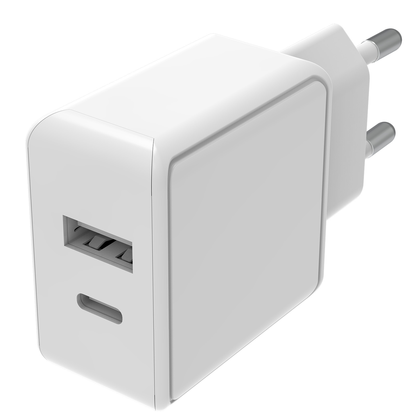 Speedy Dual PD Wall Charger 18W White