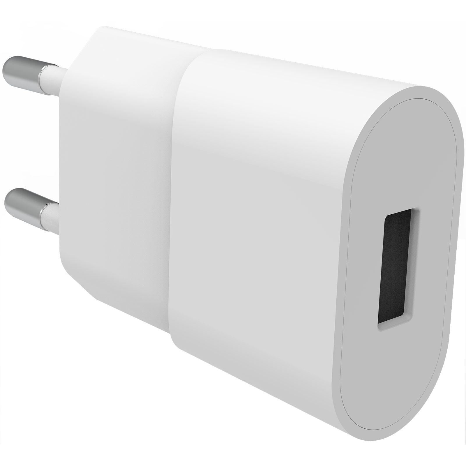 USB Wall Charger 1A hvit