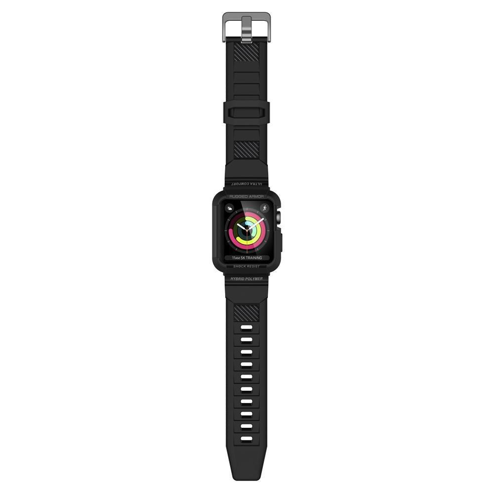 Apple Watch 42mm Case Rugged Armor Pro Black