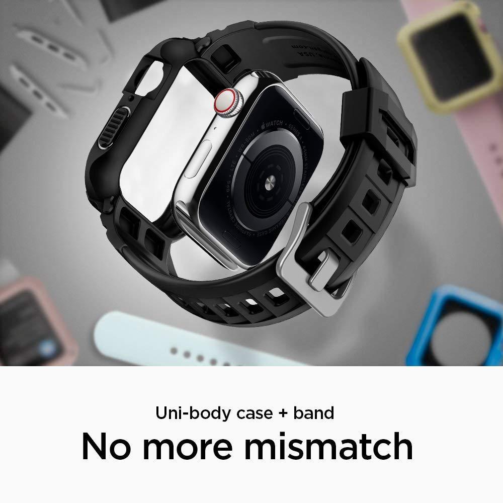 Apple Watch 44/45 mm Case Rugged Armor Pro Black