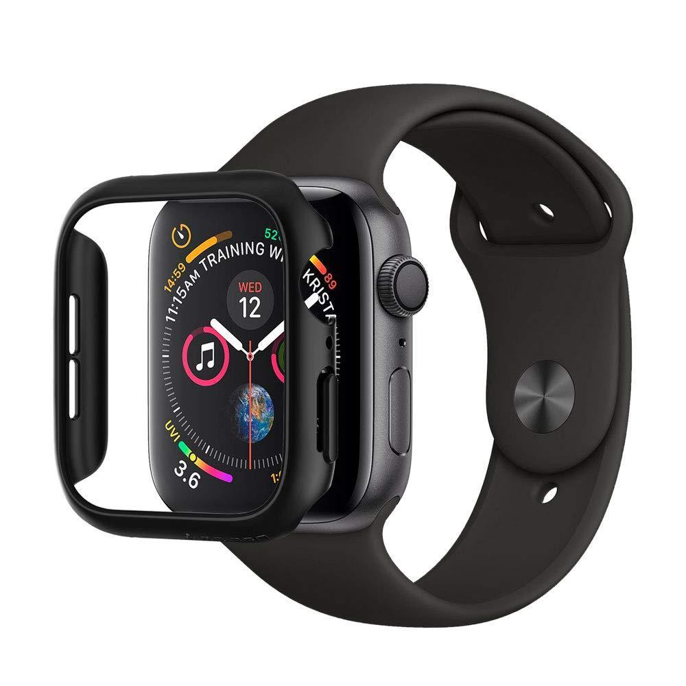 Apple Watch 44mm Case Thin Fit Black