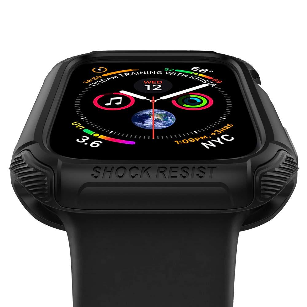 Apple Watch 44mm Case Tough Armor Black