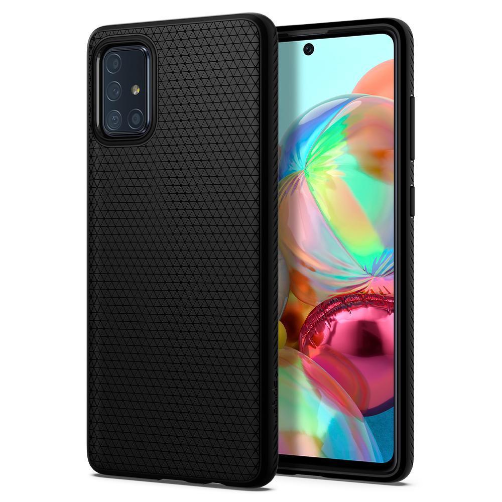 Galaxy A51 Case Liquid Air Black