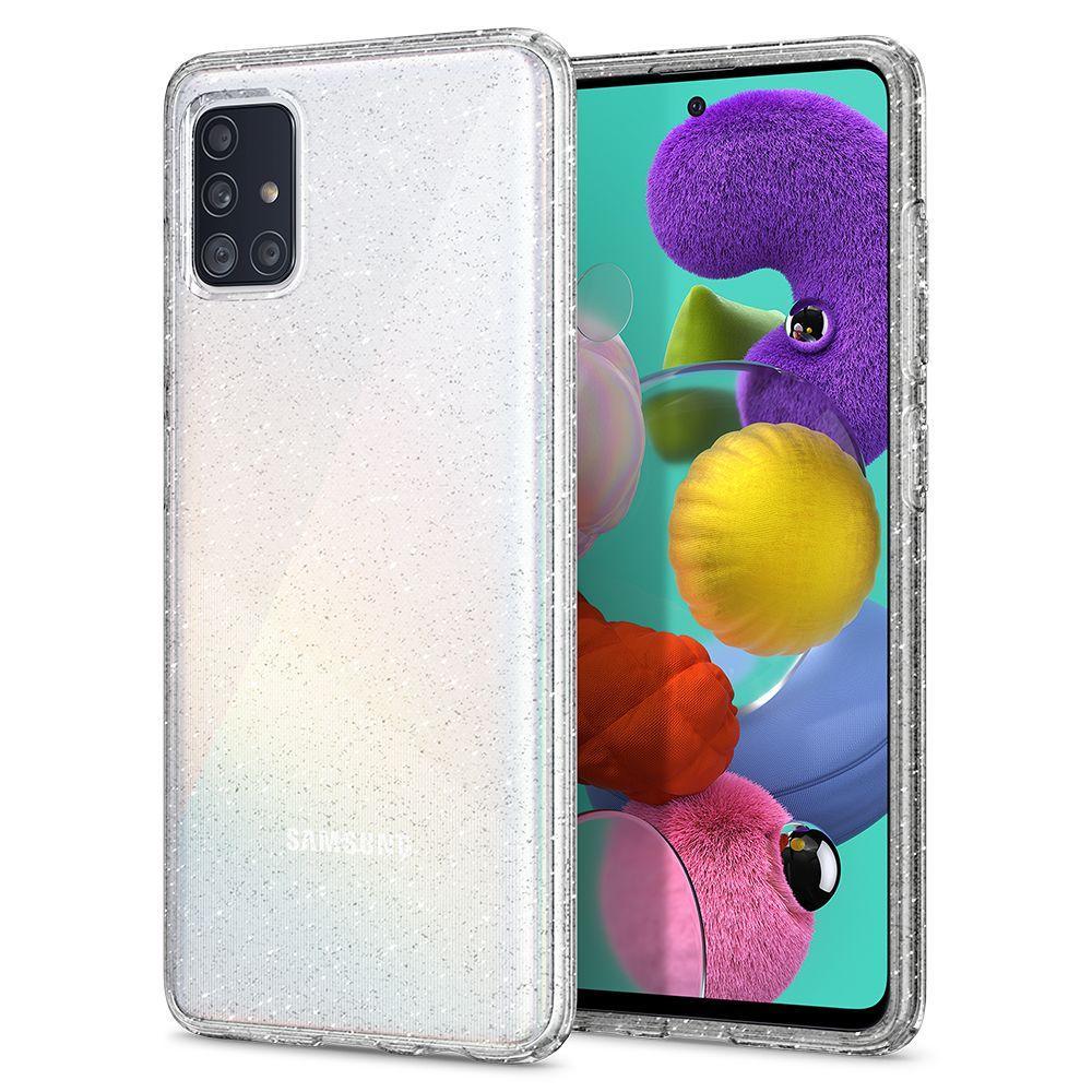 Galaxy A51 Case Liquid Crystal Glitter Crystal