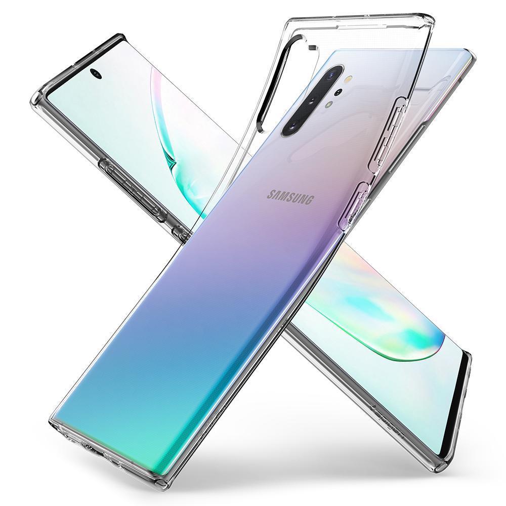 Galaxy Note 10 Plus Case Liquid Crystal Clear