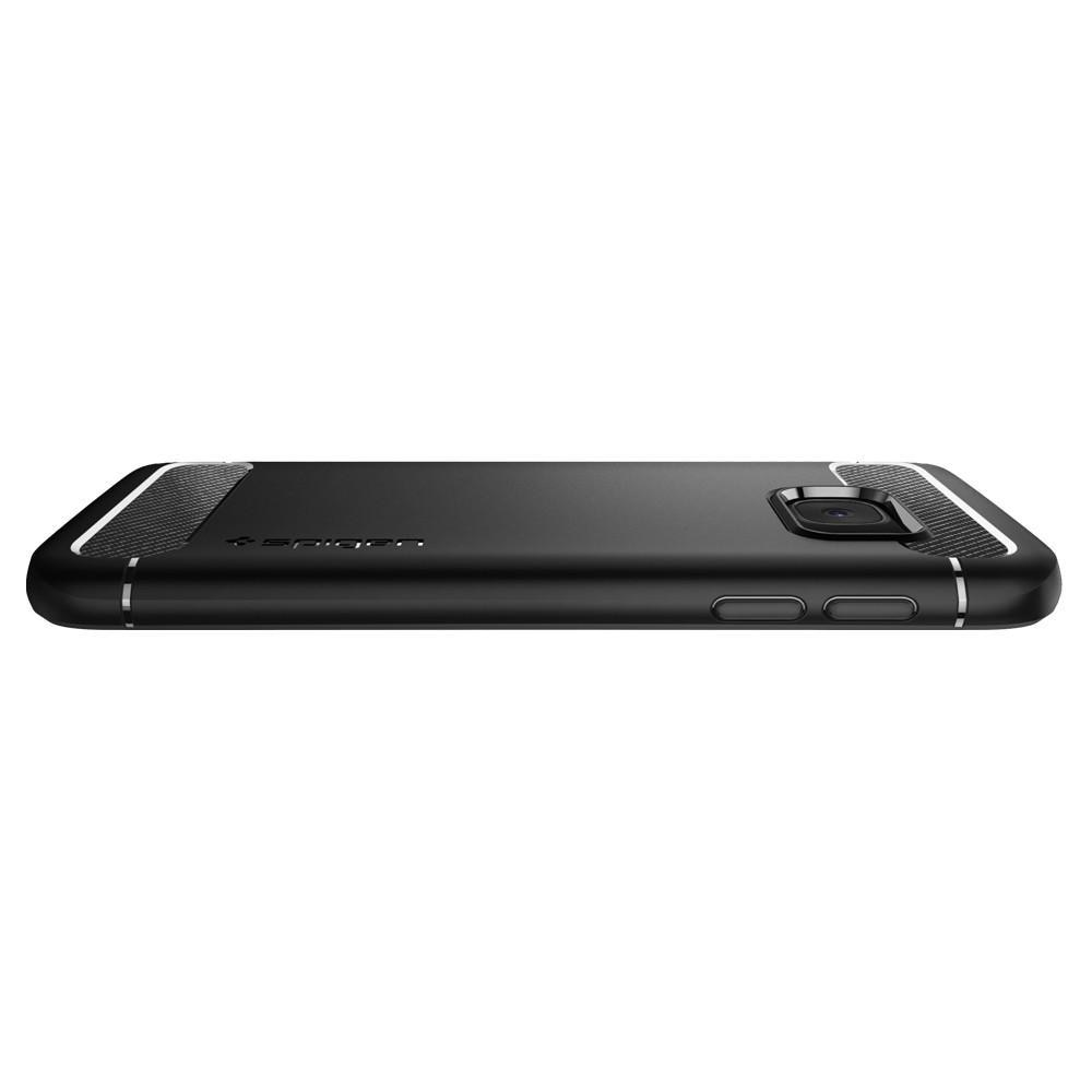 Galaxy S7 Rugged Armor Case Black