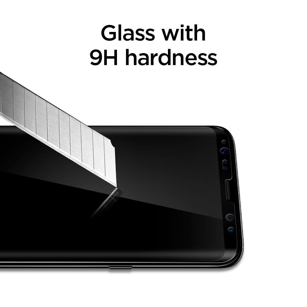 Galaxy S8 Screen Protector GLAS.tR Full Cover Glass