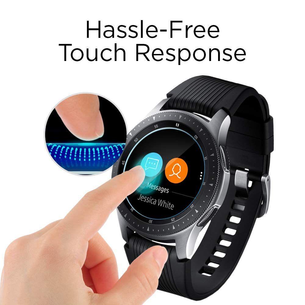 Galaxy Watch 46mm Screen Protector GLAS.tR SLIM (3-pack)