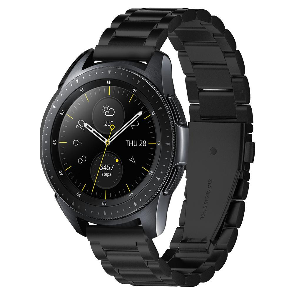 Galaxy Watch Active/42mm Armband Modern Fit Black