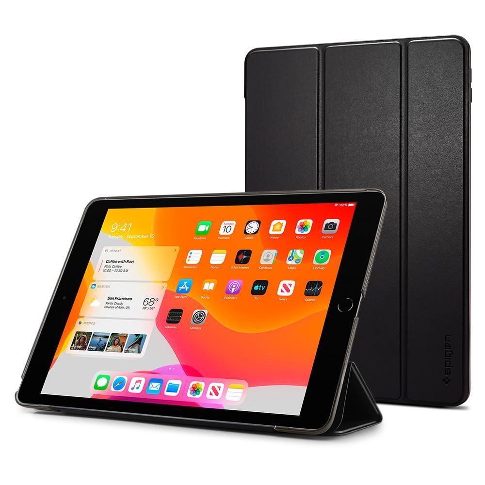 iPad 10.2 2019 Case Smart Fold Black