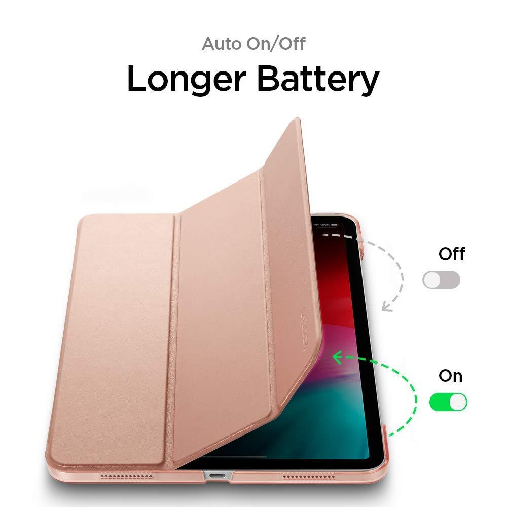 iPad Pro 12.9 2018 Case Smart Fold Rose Gold