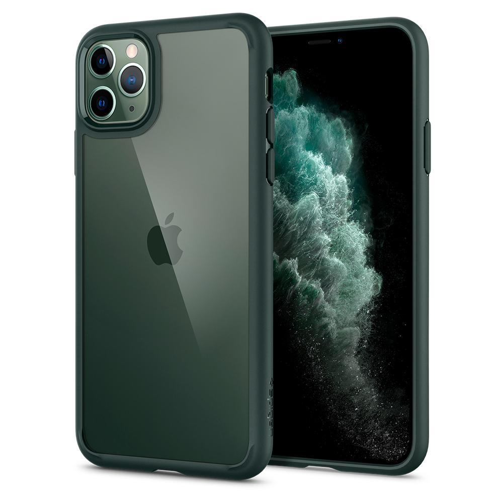 iPhone 11 Pro Case Ultra Hybrid Midnight Green
