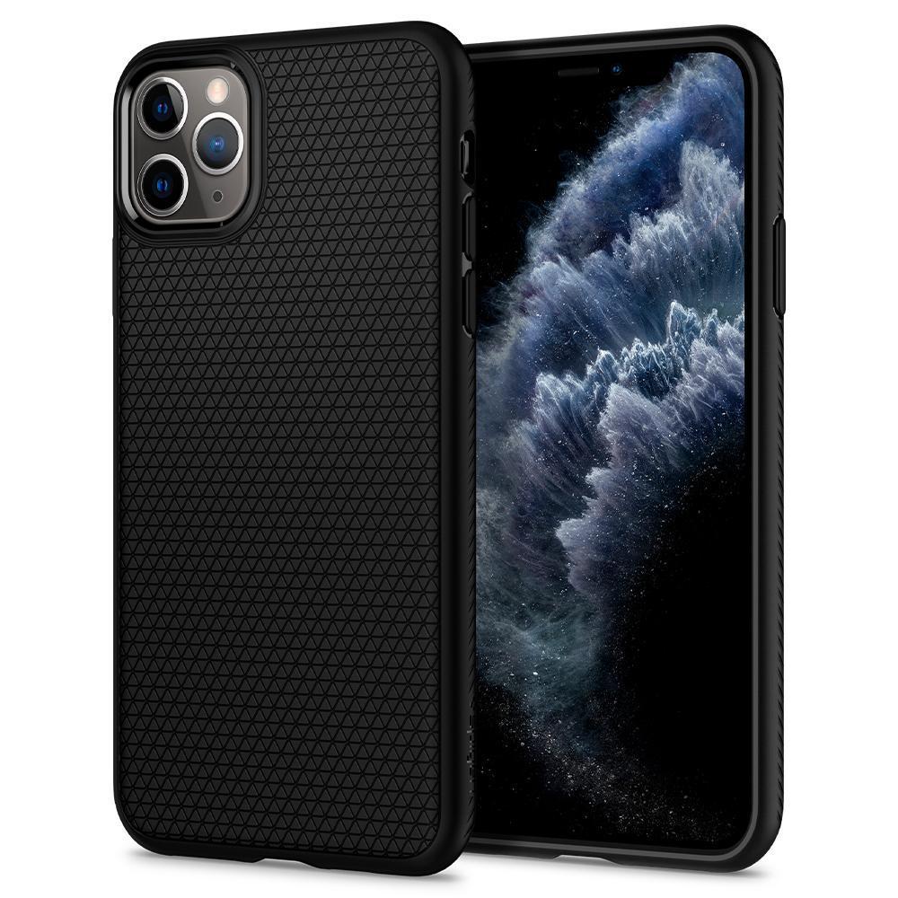 iPhone 11 Pro Max Case Liquid Air Black